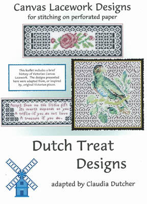 click here to view larger image of Canvas Lace Designs (chart)