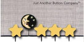 click here to view larger image of Moon and Stars - Just Pins (pin)