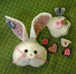 click here to view larger image of Cottontail Pin-It Ornament Kit (None Selected)