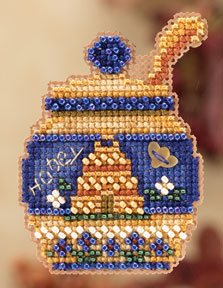 click here to view larger image of Honey Pot  (2012) (counted cross stitch kit)