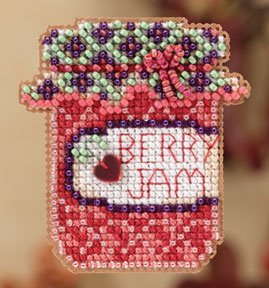 click here to view larger image of Berry Jam  (2012) (counted cross stitch kit)