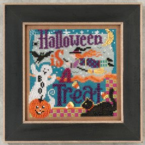click here to view larger image of Halloween is a Treat  (2012) (counted cross stitch kit)