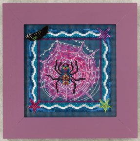 click here to view larger image of Tangled Web  (2012) (counted cross stitch kit)