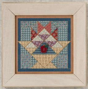 click here to view larger image of Fruit Basket Quilt  (2012) (counted cross stitch kit)
