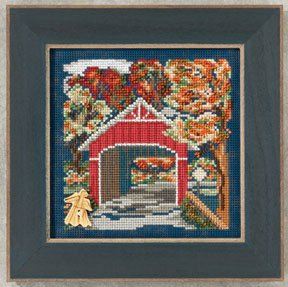 click here to view larger image of Covered Bridge  (2012) (counted cross stitch kit)