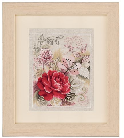 click here to view larger image of Floral - 1 (counted cross stitch kit)