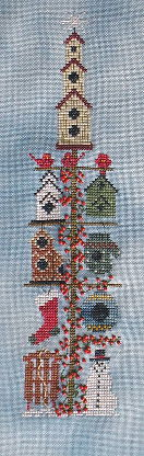 click here to view larger image of Birdhouse Pole Winter (chart)