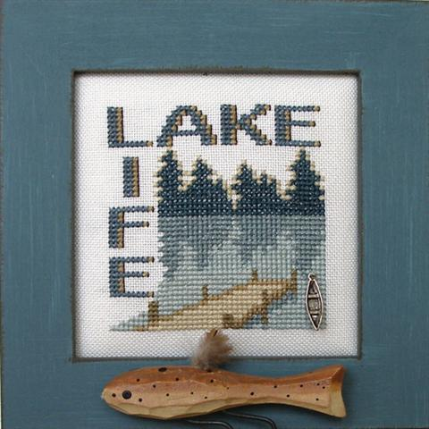 click here to view larger image of WordPlay - Lake/Life (chart with charms/buttons)
