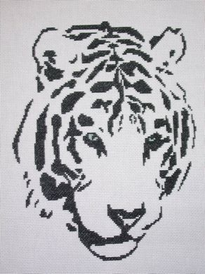 click here to view larger image of Tribal White Tiger (chart)