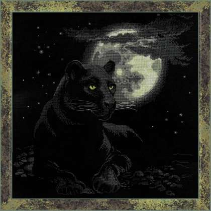 click here to view larger image of Full Moon (counted cross stitch kit)