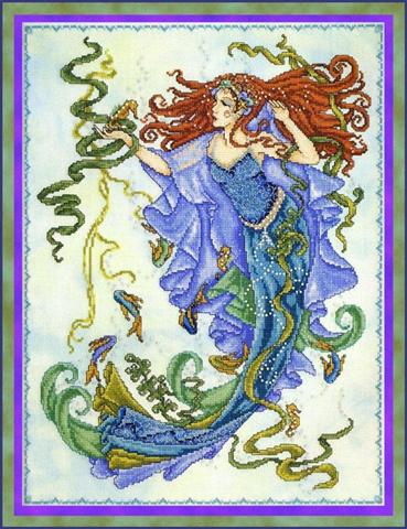 click here to view larger image of Goddess of the Sea (chart)