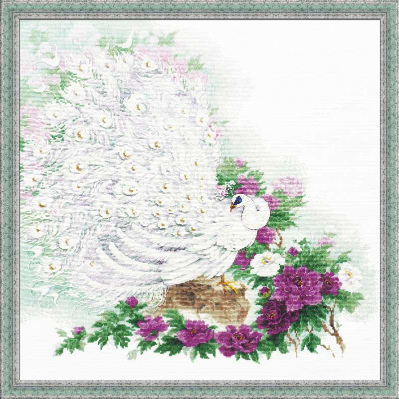 click here to view larger image of Maharajas  Garden (counted cross stitch kit)
