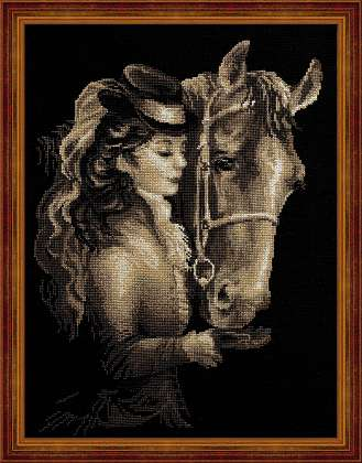 click here to view larger image of Amazon (counted cross stitch kit)