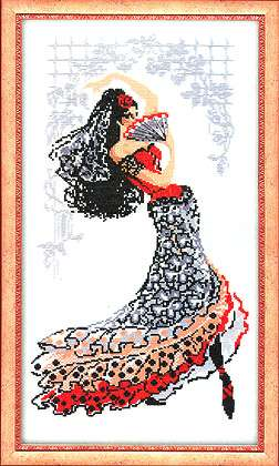 click here to view larger image of Carmen (counted cross stitch kit)