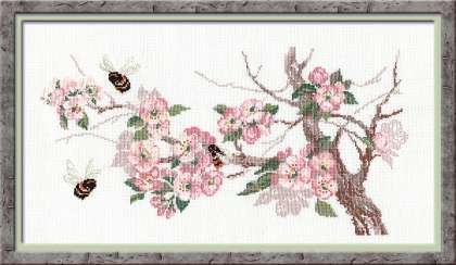 click here to view larger image of Breath of Spring (counted cross stitch kit)