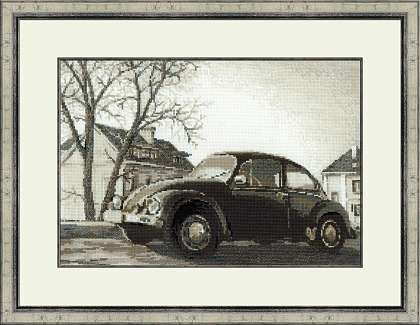 click here to view larger image of Beetle, The (counted cross stitch kit)