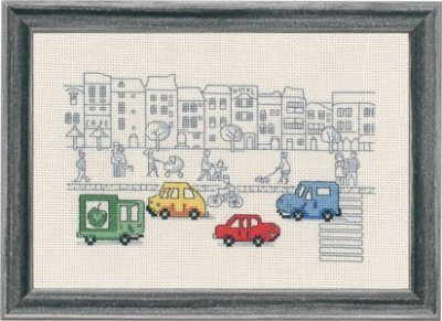 click here to view larger image of Street (counted cross stitch kit)