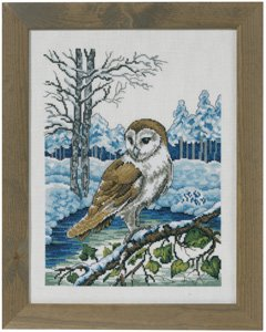 click here to view larger image of Barn Owl (counted cross stitch kit)