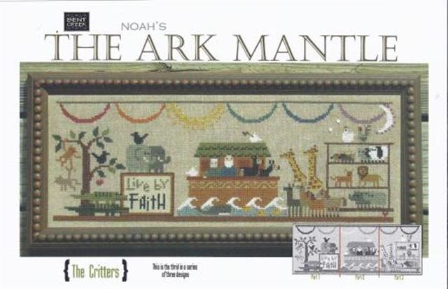 click here to view larger image of Ark Mantle - The Critters (counted cross stitch kit)