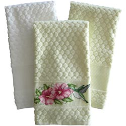 click here to view larger image of Estate Diamond Weave Towel 16 x 24 Ecru (stitchable)