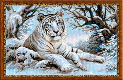 click here to view larger image of Bengal Tiger (counted cross stitch kit)