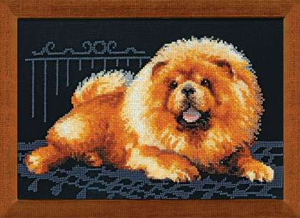 click here to view larger image of Chow (counted cross stitch kit)
