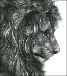 click here to view larger image of Lion Face (chart)