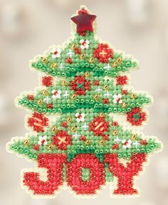 click here to view larger image of Joy Tree (2012) (counted cross stitch kit)