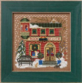 click here to view larger image of Book Seller (counted cross stitch kit)