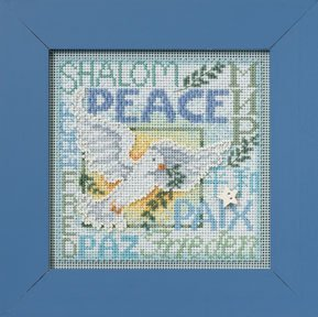click here to view larger image of World Peace (counted cross stitch kit)