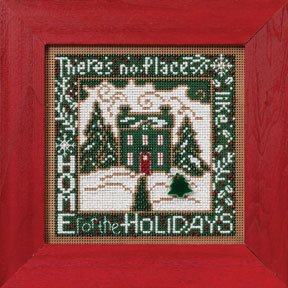 click here to view larger image of Home For The Holidays (counted cross stitch kit)