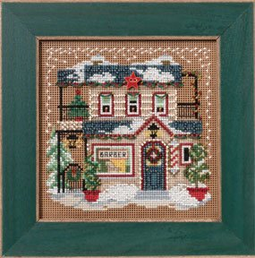click here to view larger image of Barber Shoppe (counted cross stitch kit)