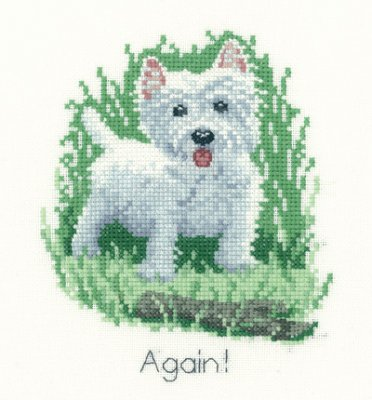 click here to view larger image of Again (counted cross stitch kit)