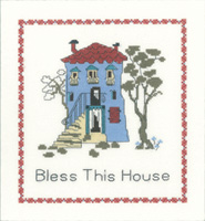click here to view larger image of Bless This House (counted cross stitch kit)