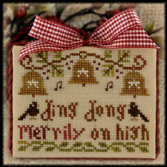 click here to view larger image of Ding Dong Merrily on High (2012 Ornament 5) (chart)