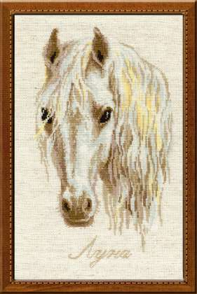 click here to view larger image of Moon (counted cross stitch kit)