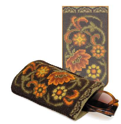 click here to view larger image of Spectacle Case - Ornament (counted cross stitch kit)