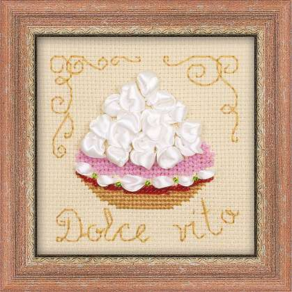click here to view larger image of Cake Basket (counted cross stitch kit)