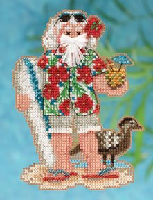 click here to view larger image of Hawaii Santa (2012) (counted cross stitch kit)
