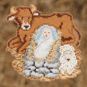 click here to view larger image of Baby Jesus (2012) (counted cross stitch kit)