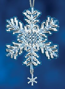click here to view larger image of Ice Crystal (2012) (counted cross stitch kit)