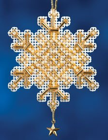 click here to view larger image of Gold Crystal (2012) (counted cross stitch kit)