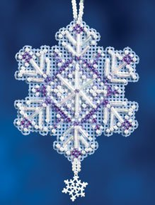 click here to view larger image of Amethyst Crystal (2012) (counted cross stitch kit)