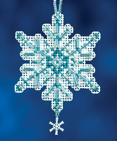 click here to view larger image of Aqua Crystal (2012) (counted cross stitch kit)