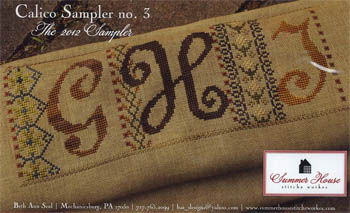 click here to view larger image of Calico Sampler No 3 (chart)