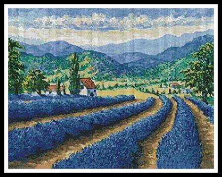 click here to view larger image of Lavender Field (chart)