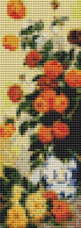 click here to view larger image of Dahlias (Bookmark) (chart)