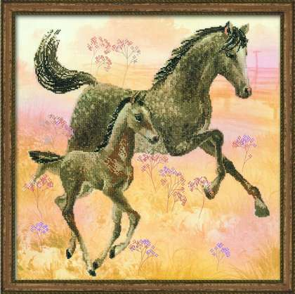 click here to view larger image of Walk, The (counted cross stitch kit)