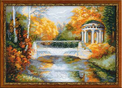 click here to view larger image of Autumn Park (counted cross stitch kit)