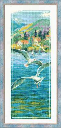 click here to view larger image of Noontime (counted cross stitch kit)